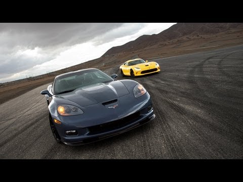 Burnout Super Test, Part 7: 2012 Chevy Corvette ZR1 vs. 2013 SRT Viper -- Edmunds.com