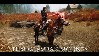 getlinkyoutube.com-TES V - Skyrim Mods: Tumbajamba's Mounts