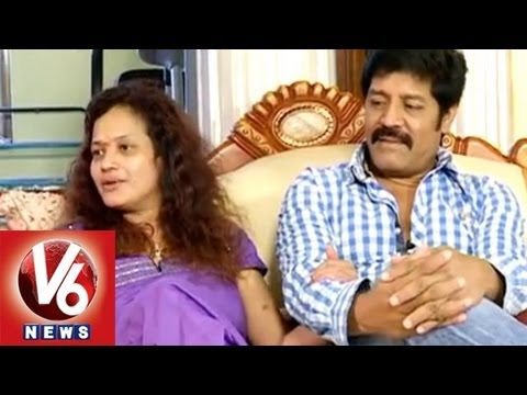 Life Mates - Actor Srihari & Disco Shanti - V6 Exclusive