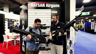 getlinkyoutube.com-2017 SHOT Show Coverage - 5/10 Hatsan Barrage & Bullmaster semi-auto, and Nova