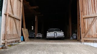 getlinkyoutube.com-Massive Barn Find, Join us as We Take a Walk Through Classic Cars, Been Sitting For 25 Years