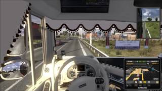 getlinkyoutube.com-Euro Truck Simulator 2 Daf Xf 105 Son V8