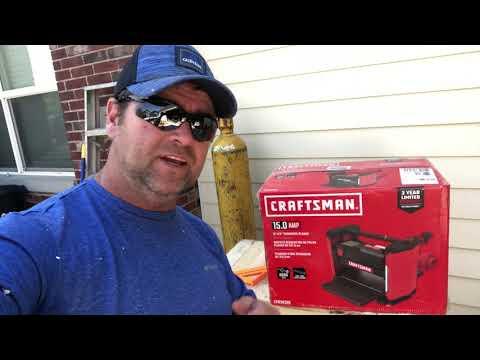 Craftsman Planer Review Youtube Thumbnail