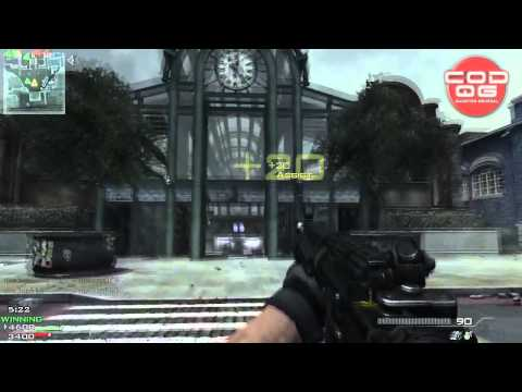 [UNDERGROUND] Modern warfare 3 gameplay + MW3 KillCam (Game Winning Kill)