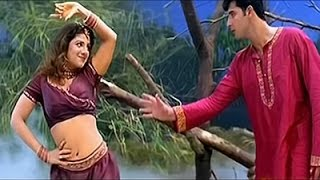 Rambha Hot Boob show in Tamil movie