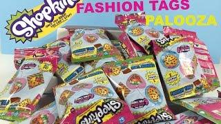 getlinkyoutube.com-Shopkins Fashion Tags Palooza Opening Toy Review With Season 1 Figures | PSToyReviews