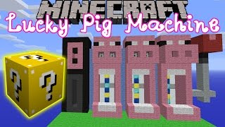 getlinkyoutube.com-Minecraft: Lucky Block Mod Pig Slot Machine Mini-Game - Modded Mini-Game