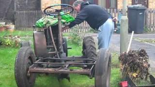 getlinkyoutube.com-George Fowell dumper.    Lister LD1 diesel engine