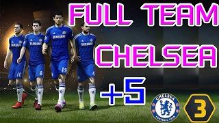 getlinkyoutube.com-นักเตะ Full Team Chelsea บวก5 - Fifa online3 by Toshihiro