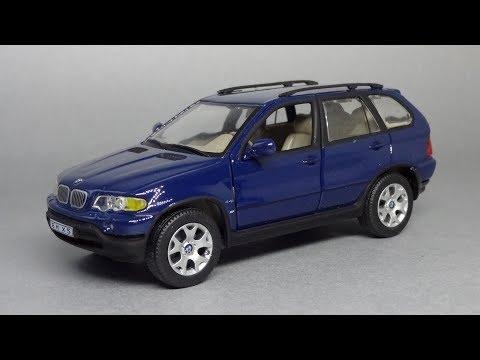 BMW X5 E53   Hongwell Cararama   Коллекционные масштабные модели автомобилей 1:43