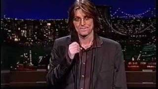 Mitch Hedberg on the Late Show 3/12/03