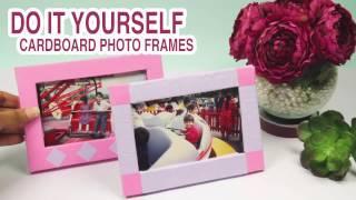 getlinkyoutube.com-Cardboard Photo Frame: DIYIndian