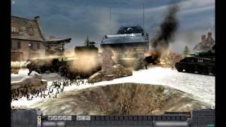 "getlinkyoutube.com-MEN OF WAR (PC): ""Operation Gungnir"" - Landkreuzer P1000 Ratte - December 22, 1944"
