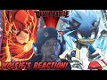 Wolfie Reacts: One Minute Melee - Sonic vs the Flash - WereWoof Reaction
