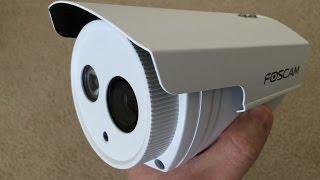 getlinkyoutube.com-Foscam Outdoor FI9803ep POE unboxing video