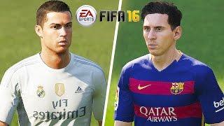 getlinkyoutube.com-FIFA 16 Gameplay - Barcelona vs Real Madrid [1080p HD 60FPS] El Clasico