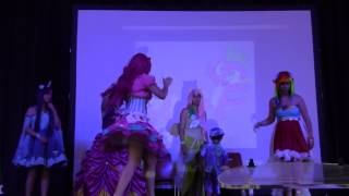 getlinkyoutube.com-Japan Addict XVII cosplay groupe : My little pony