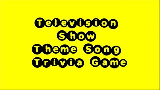 getlinkyoutube.com-Television Theme Song Trivia Game #1 - 50 Songs!