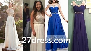 """Chinese PROM Dresses """"Review"""" - 27dress.com"""
