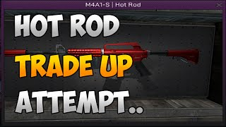 getlinkyoutube.com-CS:GO: M4A1-S Hot Rod Trade Up Contract Attempt!
