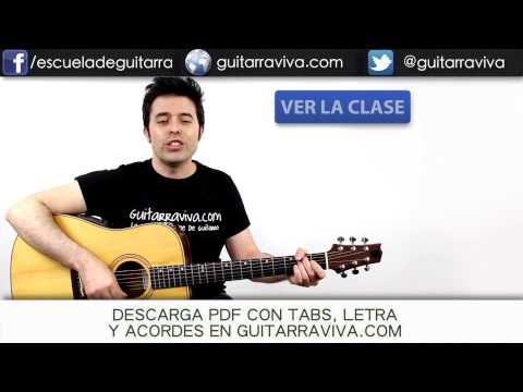 Losing My Religion de REM en guitarra fácil tutorial guitarraviva DEMO