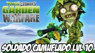 getlinkyoutube.com-Plants vs Zombies Garden Warfare PS4 - Soldado LVL 10 o Soldado Camuflado, não curti muito