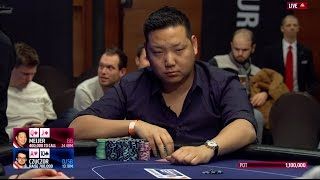 Sick Poker Hand at the EPT Prague Main Event Final Table