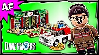 getlinkyoutube.com-Lego Dimensions New GHOSTBUSTERS Story Pack 71242 Stop Motion Build Review