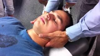 getlinkyoutube.com-3Rd- Supine Cervical Spine Pillar P-A Push (different angle)