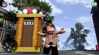 getlinkyoutube.com-LEGO Dimensions - The Eleventh Doctor Free Roam Gameplay on Dr. Who World (Matt Smith)