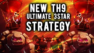 getlinkyoutube.com-Max Attack / OP Laloon | New TH9 3Star Strategy | Noob Friendly Clash of Clans Attack