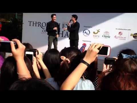 Mario Maurer in Singapore 2014 (Part 1)