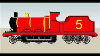 getlinkyoutube.com-Thomas The Tank Engine Sketchup model batch #1