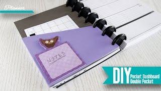 getlinkyoutube.com-DIY: Planner Pocket Dashboard and Double Pocket