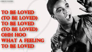 Jackie Wilson To Be Loved lyrics