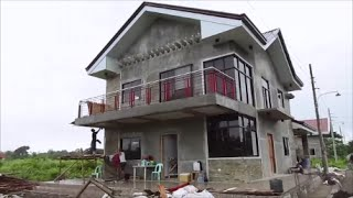 getlinkyoutube.com-Merz's new custom home in the Barotac, Iloilo Philippines.  Build your dream home here!
