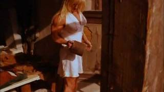 Hot Woman shows off her huge biceps.avi