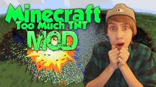 getlinkyoutube.com-''ZOVEEL EXPLOSIES!'' - Minecraft Too Much TNT Mod Showcase!
