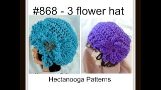 getlinkyoutube.com-How to crochet a chunky adult hat, #868, free written pattern on my blog