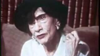 getlinkyoutube.com-Coco Chanel 1969 Interview - Part 1/2
