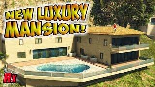 getlinkyoutube.com-NEW LUXURIOUS MANSION! NEW DLC UPDATE!👍Gta 5 Grand Theft Auto V Online Alphyx
