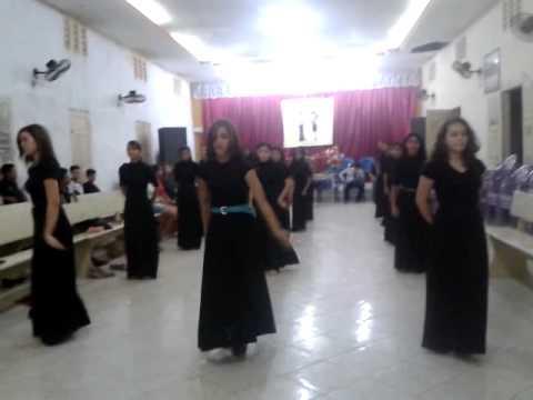 Coreografia Evangelica-Casa Cheia-Lauriete-Manancial de Águas Vivas