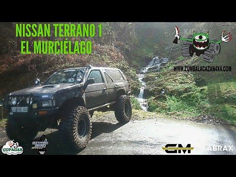 NISSAN TERRANO 1 40' KZT GR Y61 WARN MAXXIS TREPADOR EL MURCIELAGO? OFF ROAD 4X4 EXTREME GALICIA