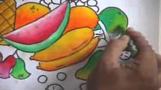 getlinkyoutube.com-Melukis Buah buahan