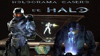 getlinkyoutube.com-Holograma casero de Halo (proceso y video para piramide holografica)
