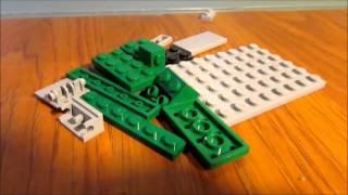 How to make a Hornet from Lego? - Hornet tutorial