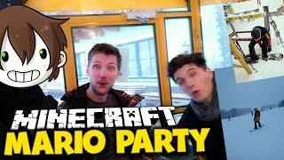 getlinkyoutube.com-MEIN SKIURLAUB MIT GERMANLETSPLAY! ✪ Minecraft Mario Party