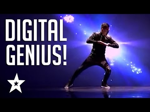 Digital Animated Dance Audition On Mongolia's Got Talent | Got Talent Global