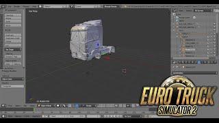 getlinkyoutube.com-Como editar Camiones en Blender para Euro Truck Simulator 2 l Full En Español