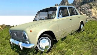 getlinkyoutube.com-BeamNG.Drive Mod : VAZ 2101 (Crash test)